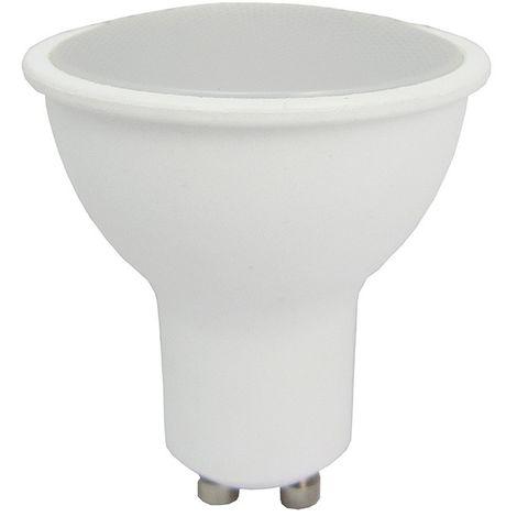 LED spot GU10 7W eq 60W 120 ° blanco cálido