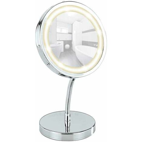 LED standing cosmetic mirror Brolo WENKO