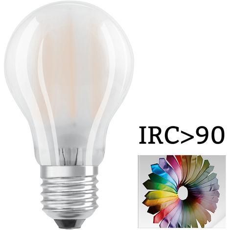 LED STAR+ CL A CRI90GL FR 60 non-dim 7,5W/927 E27 806 Lm 15 LEDVANCE 4058075813670