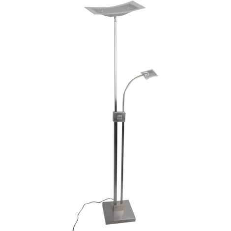 LED Stehlampe aus Aluminium dimmbar \