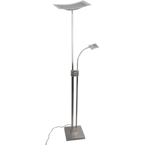 Led Stehlampe Aus Aluminium Dimmbar Annik Fur Wohnzimmer