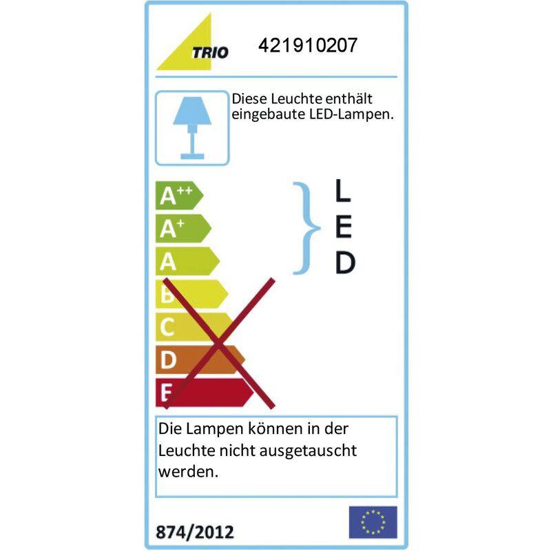 421910207 Trio LED-Stehleuchte 23W 5 LEDs 3000K 2000lm Konverter mit Schalter
