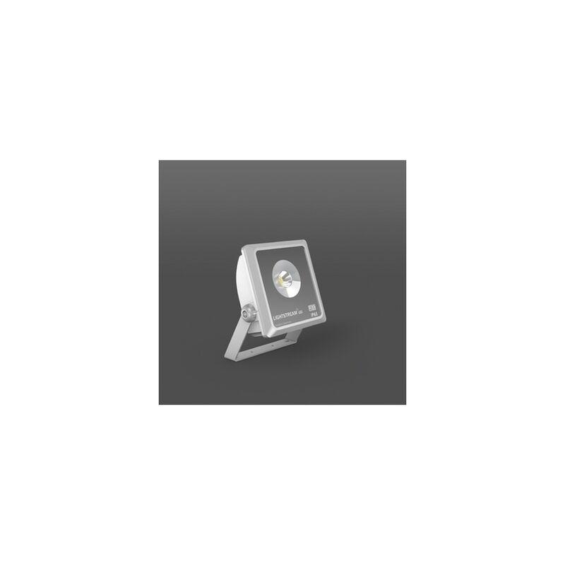 LED-Strahler 23W Lightstream 3000K A++ 1LED 2150lm IP65 si metallic Konv 32° - RZB