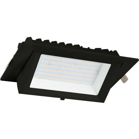LED-Strahler SAMSUNG 130 lm/W schwenkbar Rechteckig Schwarz 20W LIFUD
