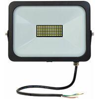LED-Strahler Slim 50W LED Arbeitsleuchte Baustellenlampe Strahler Hofeinfahrt