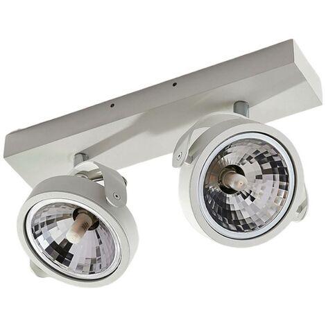 LED Deckenlampe aus Aluminium dimmbar für Küche von Lampenwelt -