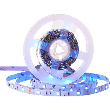 LED Strip Lights 16 Colours and White 5 m