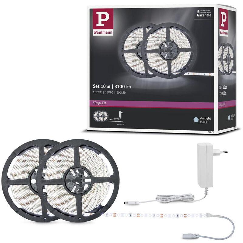 LED Strip SimpLED Set RGB Fernbedienung Steckertrafo 10 m inkl inkl