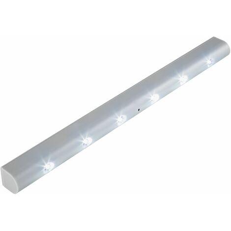 LED strip with motion detector - led under cabinet lighting, led kitchen lighting, led light bar - grey