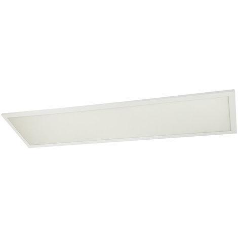 LED sur panneau, 3200 lumens, blanc chaud, télécommande, dimmable, L 80 cm, ROSI