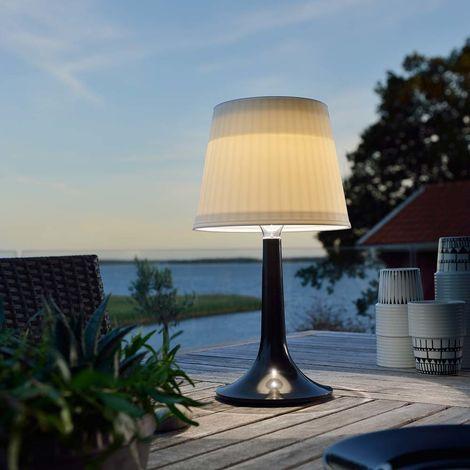 LED Tischlampe Assisi Schwarz