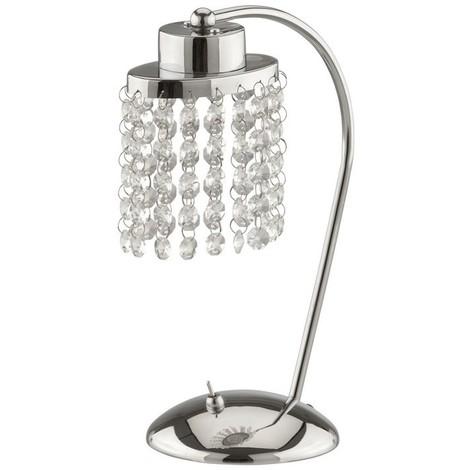 LED Tischleuchte Briloner Cristallo 7418-018 Beistelllampe Schalter