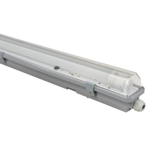 LED tubes de plafond baignoires lampe halls d'entrepôt chambre humide luminaire d'atelier MC SHINE 1451598