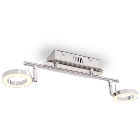 LED Wall / Ceiling Lamp with 2 Lights Warm White
