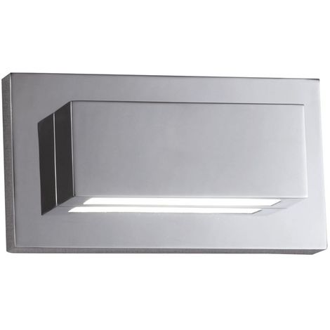 LED WALL LIGHT 10W CHROME UP/DOWNLIGHT