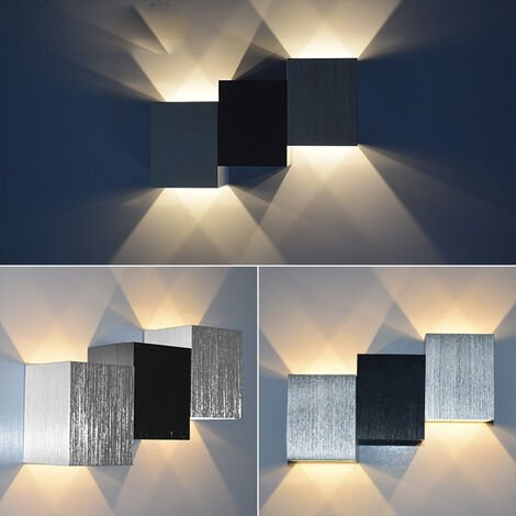 """main image of """"Led Wall Light Modern Wall Sconce Indoor Wall Lamp for Living Room Corridor Office Bedroom Kitchen Living Room Warm White 6W"""""""