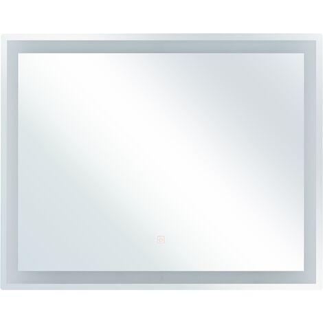 LED Wall Mirror 60 x 80 cm LANDELEAU