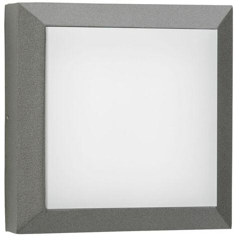 LED Wand- und Deckenleuchte A-375515 20W 2200lm Warmweiß IP54 in Anthrazit