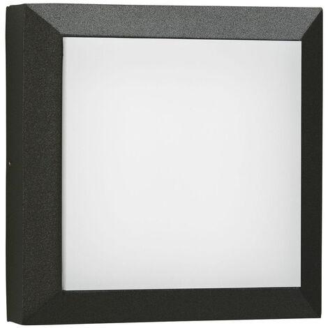 LED Wand- und Deckenleuchte A-375516 20W 2200lm Warmweiß IP54 in Schwarz
