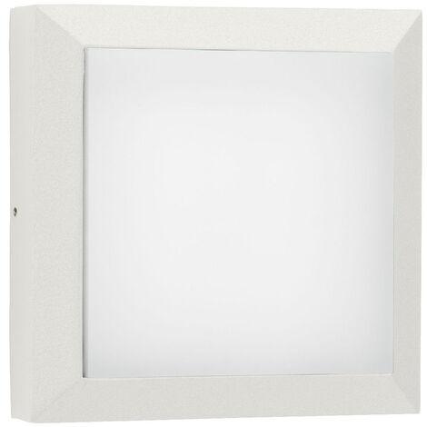 LED Wand- und Deckenleuchte A-375517 20W 2200lm Warmweiß IP54 in Weiß