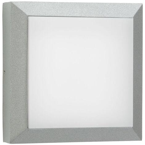 LED Wand- und Deckenleuchte A-375518 20W 2200lm Warmweiß IP54 in Silber