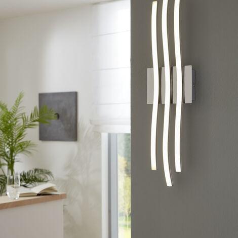 LED Wand- und Deckenleuchte wellenförmig, 3-flammig EEK A+ [Spektrum A++ bis E]