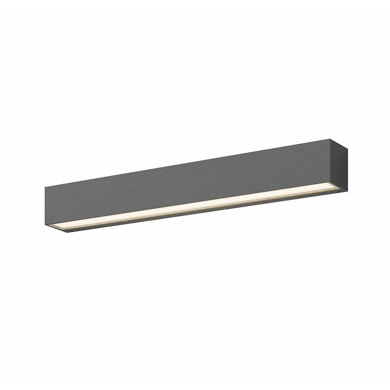 Eckige LED-Außenwandleuchte Tuana - LUCANDE