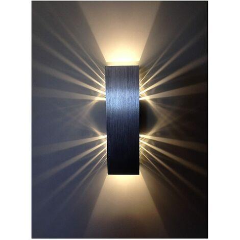 """main image of """"LED Wandleuchte Innen 6W Warmweiß Moderne LED Wandlampe Kreative Einfache Deckenleuchte für Schlafzimmer Wohnzimmer"""""""