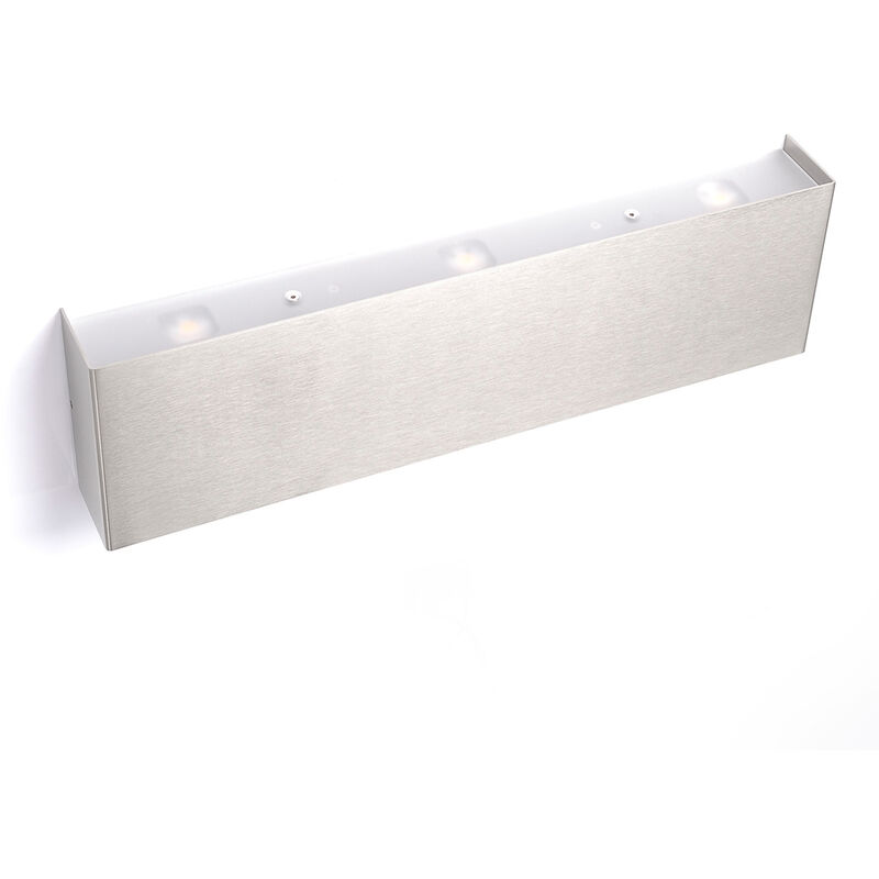Lucande - Rechteckige LED-Wandleuchte Maja 38 cm