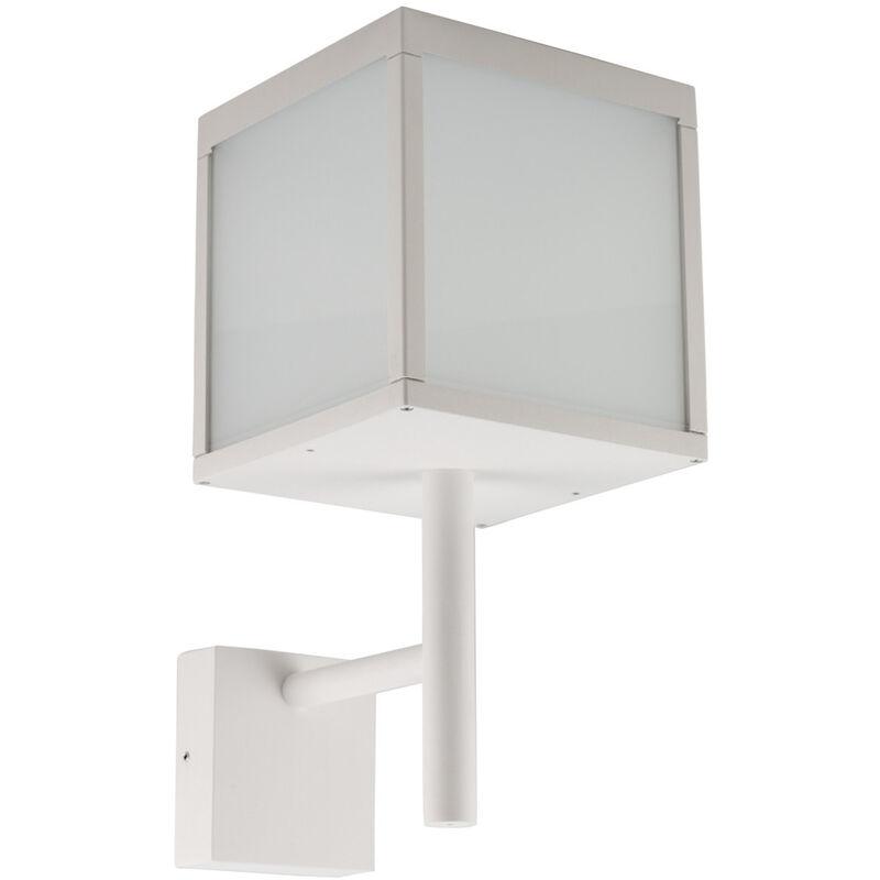 LED Wandleuchte Ravenna 3000K 500lm IP54 in Weiß