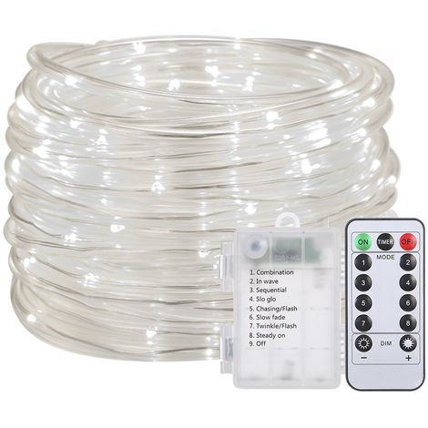 LED water light string battery operated with remote control