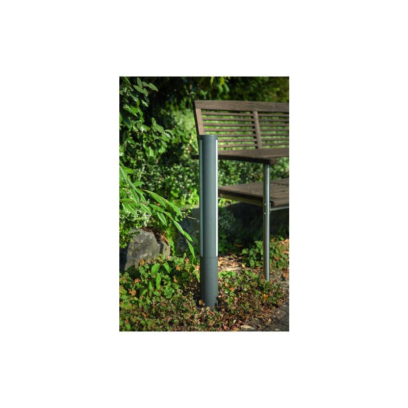 Heitronic LED Sockelleuchte LILIA 11 Watt warmton Stehlampe Stehleuchte Garten