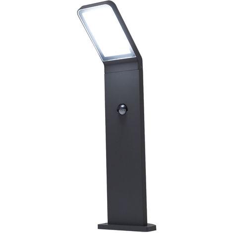 LED Wegeleuchte mit Bewegungsmelder Villads 50cm dunkelgrau 6500K 10642