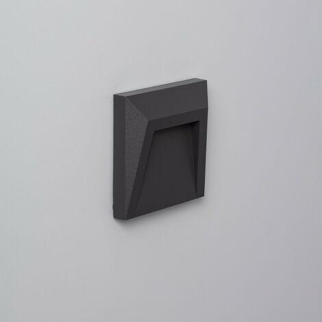 LED Wegeleuchte Oberfläsche Clover IP65 1,5W Grau
