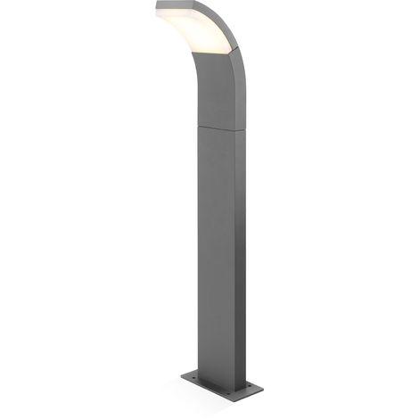 LED Wegeleuchte warmweiß 2800K 550lm 7 Watt Leuchte Außenlampe Stehlampe, 201502