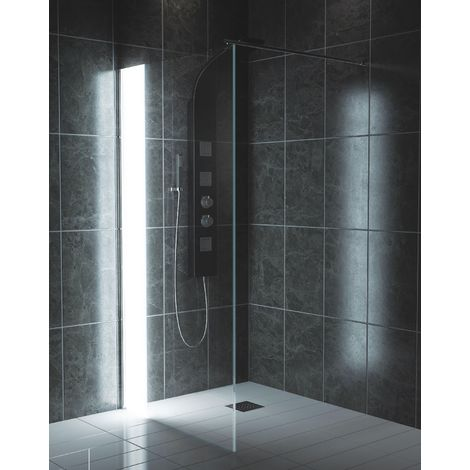 LED Wetroom Panel 800mm - Kaso Illuminated by Voda Design
