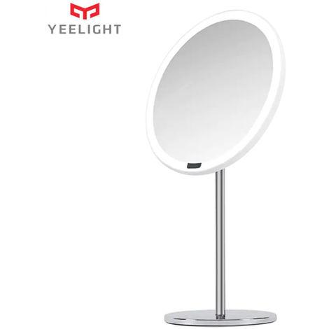 LED Yeelight maquillaje Espejo Luz USB de control Tocar recargable de movimiento regulable del sensor 3 colores de luz Proteccion de los ojos luz de la noche de la tabla Dresser