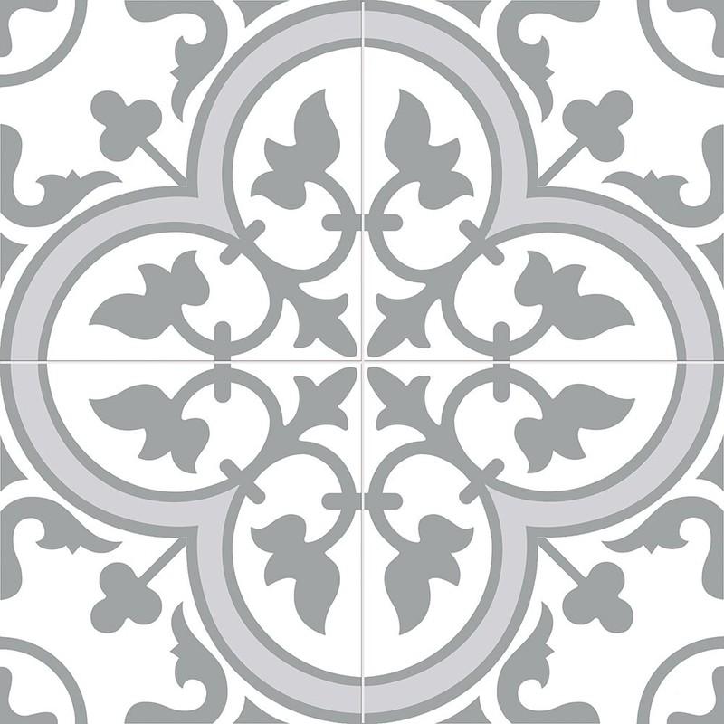 Ledbury Slate Grey Encaustic Ceramic Floor Amp Wall Pattern