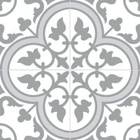 Ledbury Slate Grey Pattern Tiles - 450x450x10mm