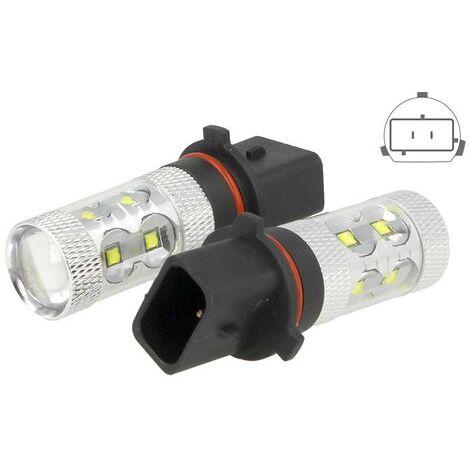 LEDLUX LS1350 Lampada Led P13W PG18.5d-1 50W 12V 24V Bianco Per Luci Diurne Fendinebbia Audi A4 Q5 Q5 Chevrolet Hyundai Kia