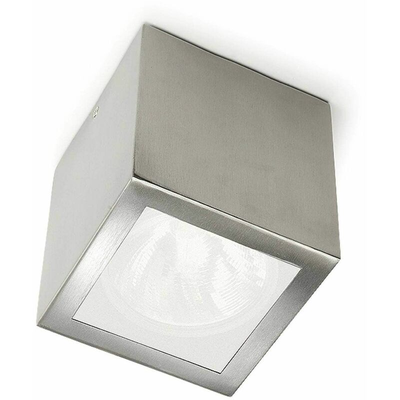 Image of 05-leds C4 - E27 Afrodita ceiling light, stainless steel and glass