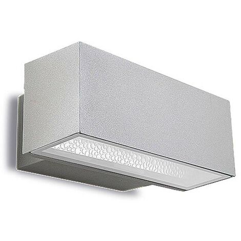 Leds-C4 - 1 Light Outdoor Wall Light Grey IP65
