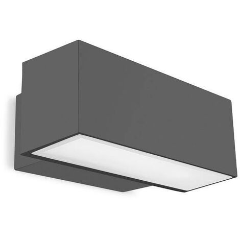 Leds-C4 - 2 Light Outdoor Wall Light Urban grey IP65
