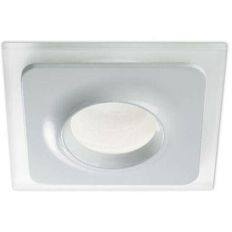 "main image of ""Leds-C4 Fmula - 1 Light Bathroom Recessed Ceiling Light White IP65"""