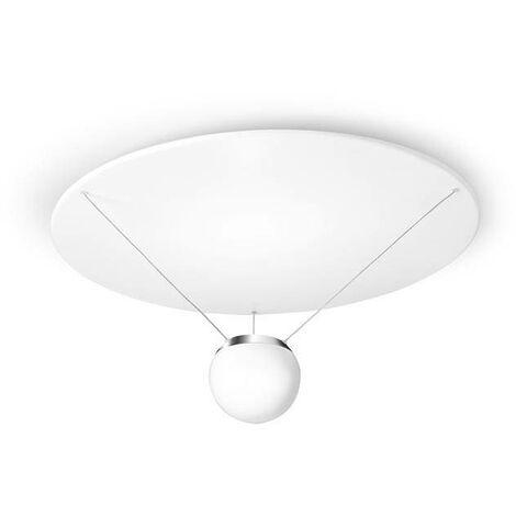 Leds-C4 GROK - LED 1 Light Dimmable Semi Flush Ceiling Light White