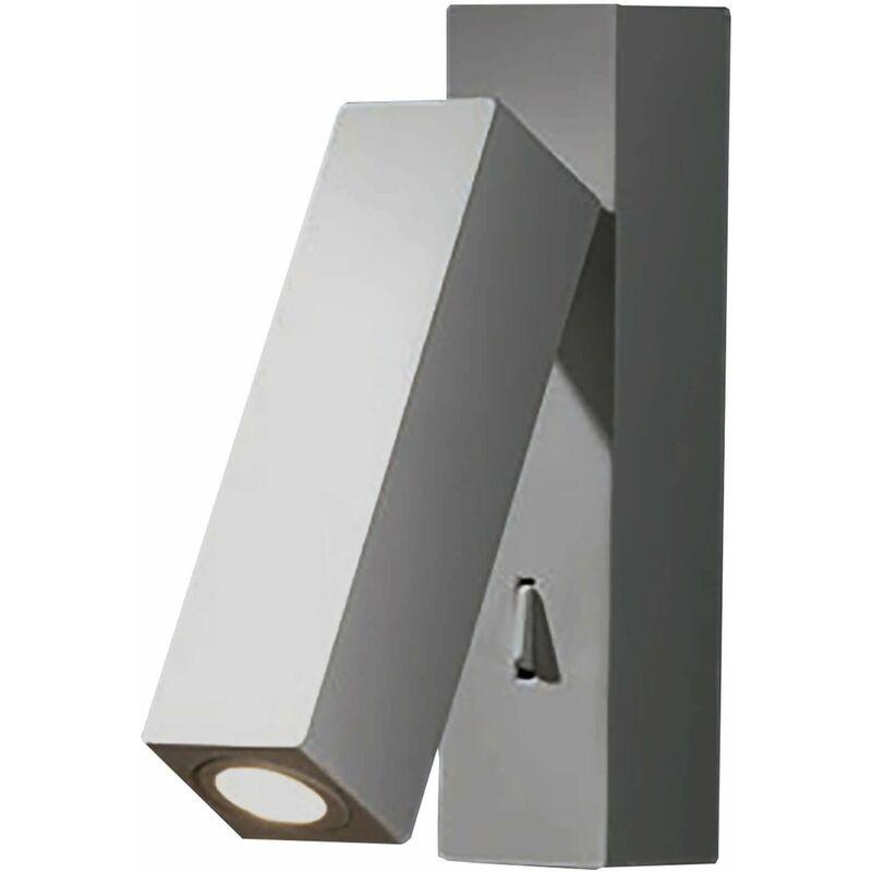 Image of Hall wall lamp, zamak, nickel