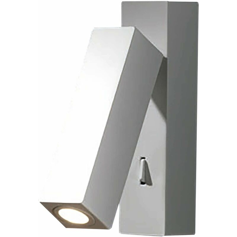 Image of Hall wall lamp, zamak, matt white