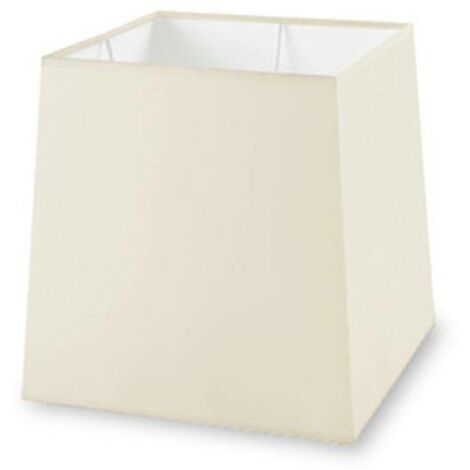 Leds-C4 Grok Pan - Beige Square Tapered Fabric Shade