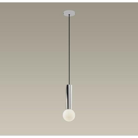 "main image of ""LEDS C4 Mist Bathroom Ceiling Simple Pendant Light Chrome E14"""