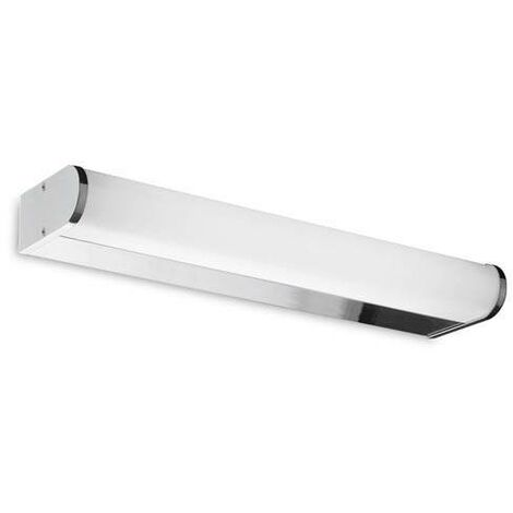 Leds-C4 Toilet - 1 Light Bathroom Small Wall Light Chrome IP44